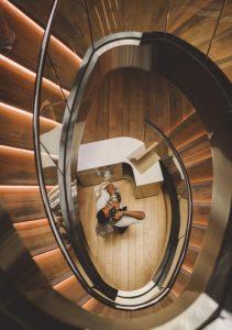 lesene stopnice so še vedno številka ena med tipi stopnic
