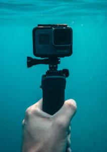 Vodoodporna kamera za snemanje pod vodo